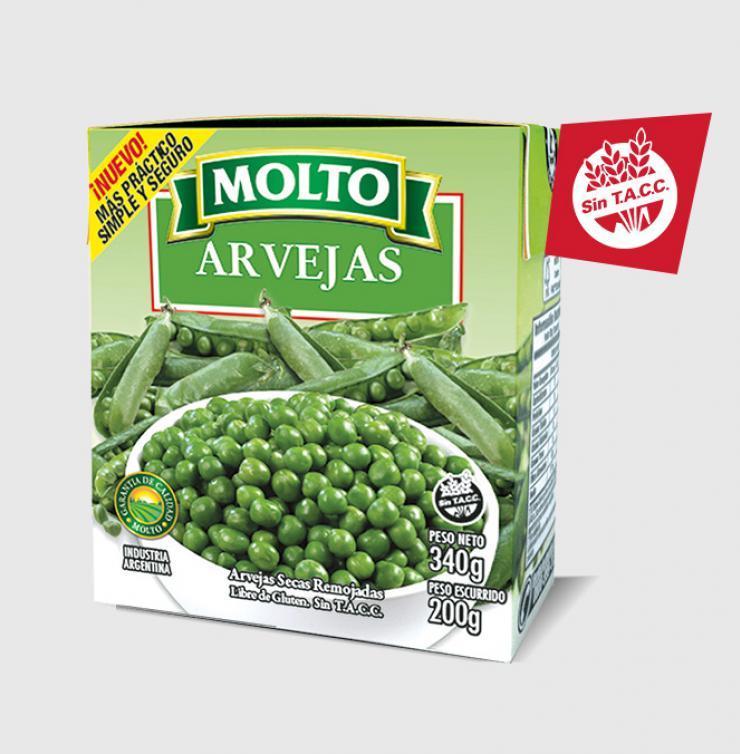 ARVEJAS TETRA RECART 340G